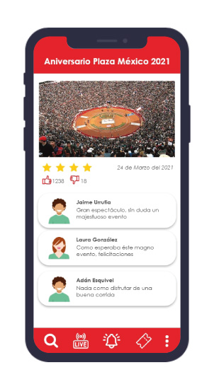 App Plaza México